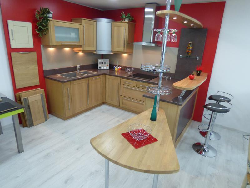 Cuisine Garric Aveyron showroom